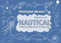 20 Nautical PS Brushes abr. vol.1