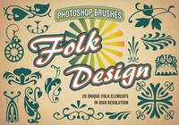 20 Folk PS Brushes abr. vol.2