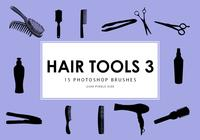 Outils de cheveux Photoshop Brushes 3
