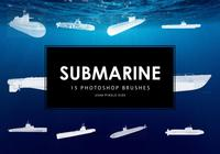 Submarine Photoshop Brushes