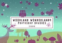 pinceles de photoshop de woodsland wonderland4