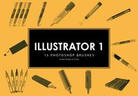 Pinceles para Photoshop Illustrator 1
