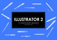 Illustrator Photoshop Borstar 2
