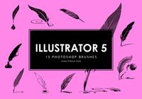 escovas de photoshop illustrator 5
