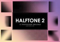 Halftone Photoshop Brushes 2