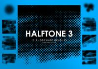 Halftone Photoshop Brushes 3