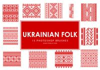 Ukrainska Folk Photoshop Borstar