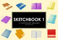 Pinceles para Photoshop Sketchbook 1