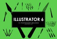 Pinceles para Photoshop Illustrator 6