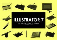 Illustrator Photoshop Borstar 7