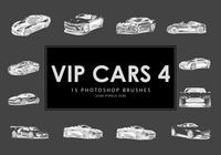 cepillos de photoshop de vip car 4
