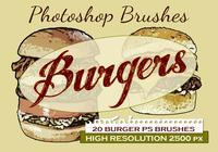 20 hamburguesas PS Brushes abr.