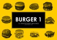 Brochas para Photoshop Burger 1