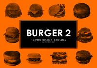 Burger Photoshop Pinsel 2