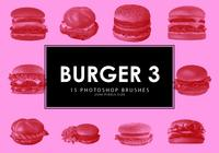 Burger Photoshop Brushes 3