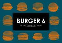 Burger Photoshop Brushes 6