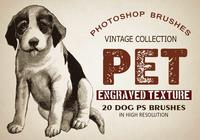 "20 Pet ""Dogs"" PS Brushes"
