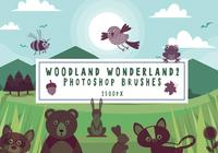 Woodland Wonderland Photoshop Pinsel