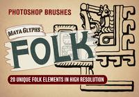 20 Brosses PS Folk Design abr.