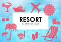 Resort Photoshop borstar