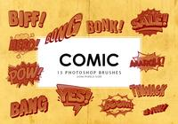 Cómic Pinceles de Photoshop