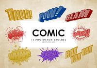 Comic Photoshop Brushes