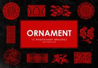 Ornement Photoshop brosses