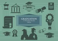 Photoshop brosses de graduation