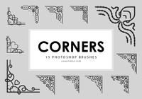 Corners Photoshop Brushes