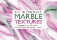 20 Brosses PS Marbrure Texture abr.
