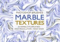 20 Marble Texture PS Brushes abr.
