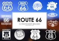 Route 66 Photoshop Brosses