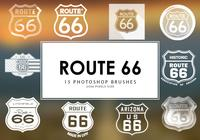 Route 66 Pinceles para Photoshop