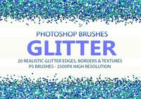 20 glitter PS Brushes abr.