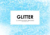 Pincettes Photoshop à paillettes