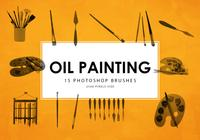 Oil Painting Tools Photoshop Brushes 1