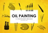 Oil Painting Tools Photoshop Brushes