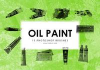 Oil Paint Photoshop Brushes