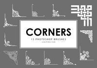 Corners Photoshop Brushes