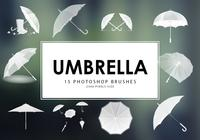 Umbrella Pinceles para Photoshop