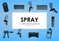 Spray Tools Photoshop Brushes
