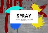Spray Photoshop Brushes
