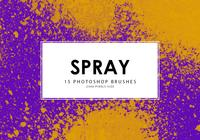 Spray Photoshop-penselen