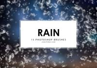 Rain Photoshop Brushes