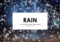 Regen Photoshop Pinsel