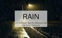 20 Rain PS-borstels abr