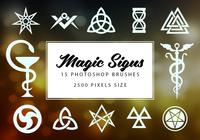 Magic Signs Brushes