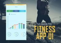 Fitness App UI PSD