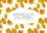 Herfst aquarel patroon