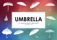 Umbrella Photoshop Brushes